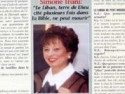 أرشيف مجلة La revue du Liban Simone Irany
